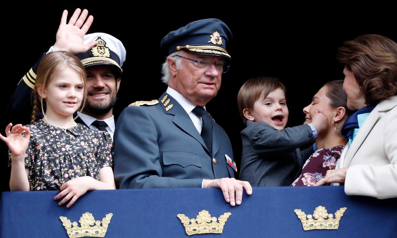 Óscar de Suecia, el otro protagonista del cumpleaños de su abuelo