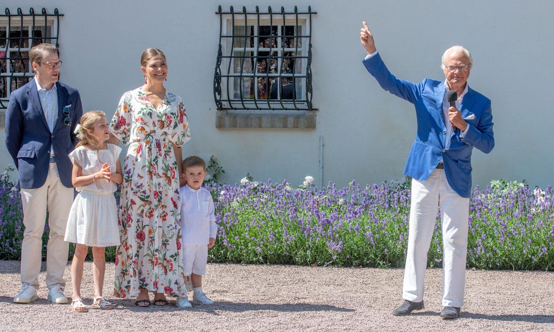 Victoria de Suecia reúne a su familia y a los suecos en una gran fiesta de cumpleaños
