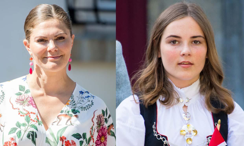 Victoria de Suecia no se perderá la confirmación de su ahijada, Ingrid Alexandra de Noruega