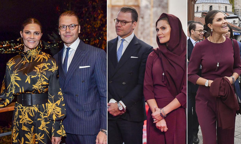 Victoria y Daniel de Suecia ponen en valor su agenda oficial como 'núcleo duro' de la Familia Real sueca en su visita a Bosnia y Herzegovina