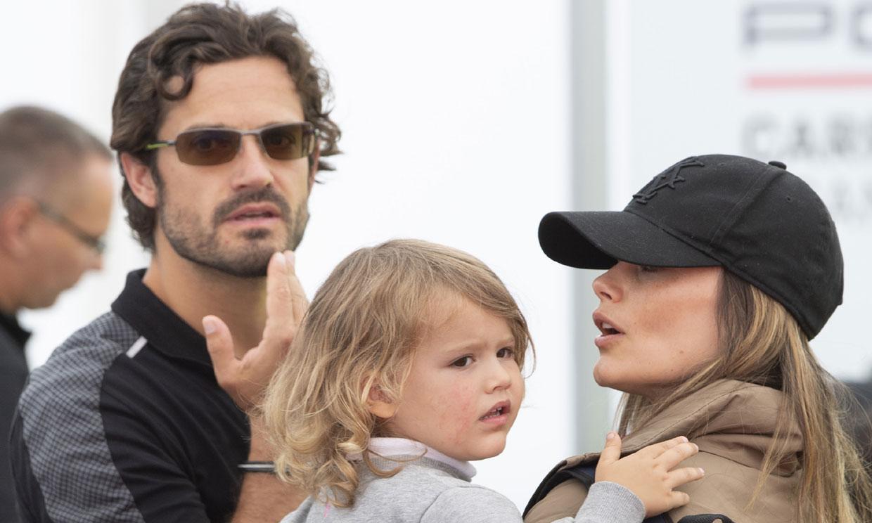 Carlos Felipe y Sofia de Suecia celebran con sus hijos el Día del Padre en el parque de Haga