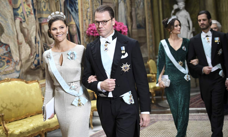 Sin Magdalena, pero con un suculento menú y grandes joyas, el Palacio Real sueco se viste de gala