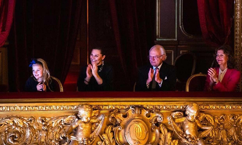 La magia del 'Cascanueces' encandila a una entusiasmada Estelle de Suecia