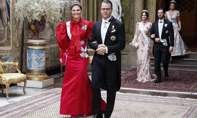 La Familia Real sueca ejerce de anfitriona para los galardonados con los Premios Nobel