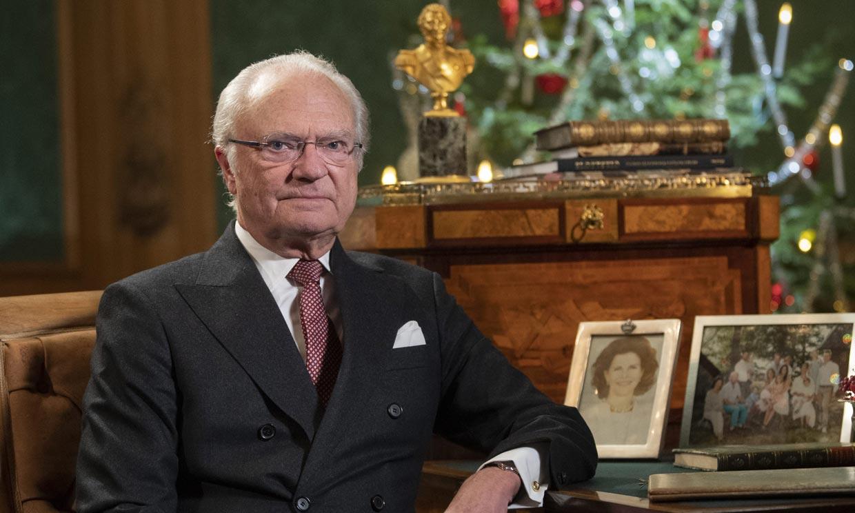 Carlos Gustavo de Suecia explica los motivos de delimitar la Familia Real sueca en su discurso de Navidad