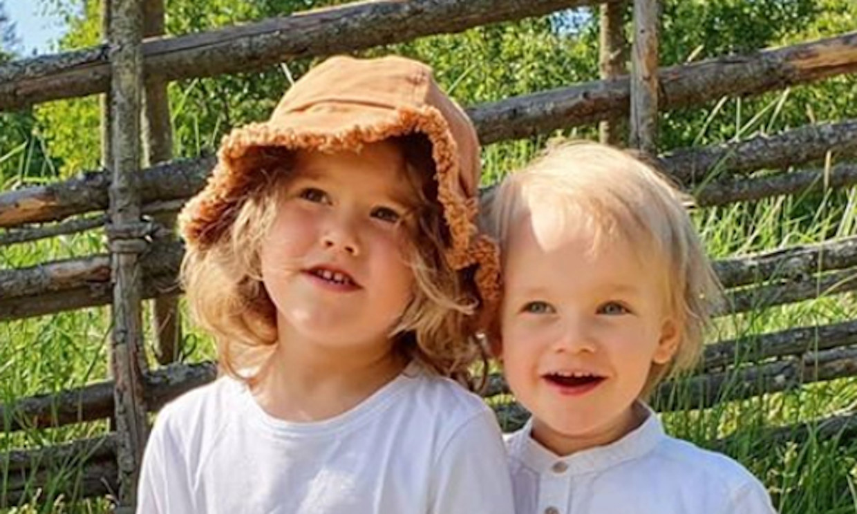 Sofia de Suecia se pone tras la cámara y capta una bucólica postal de sus pequeños para inaugurar al verano