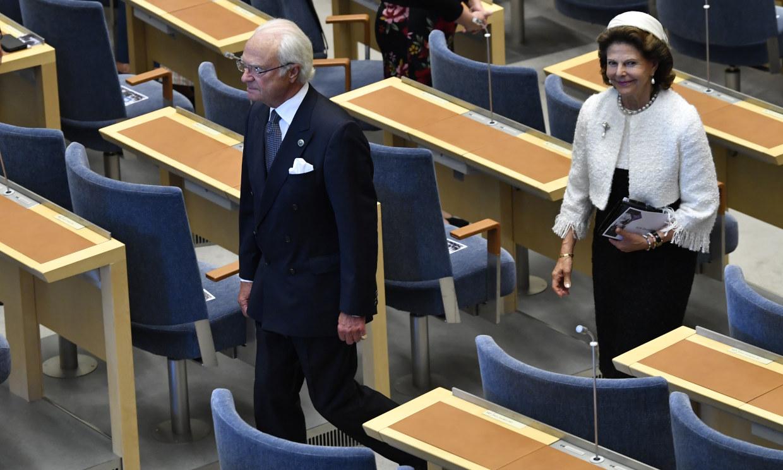 La apertura del Parlamento sueco en el curso del coronavirus