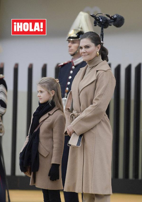 Victoria y Estelle de Suecia