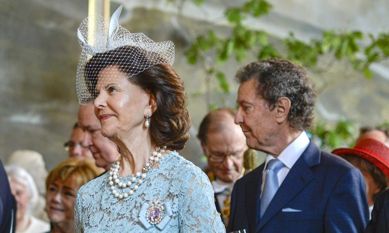 La reina Silvia de Suecia, de luto por la muerte de uno de sus hermanos