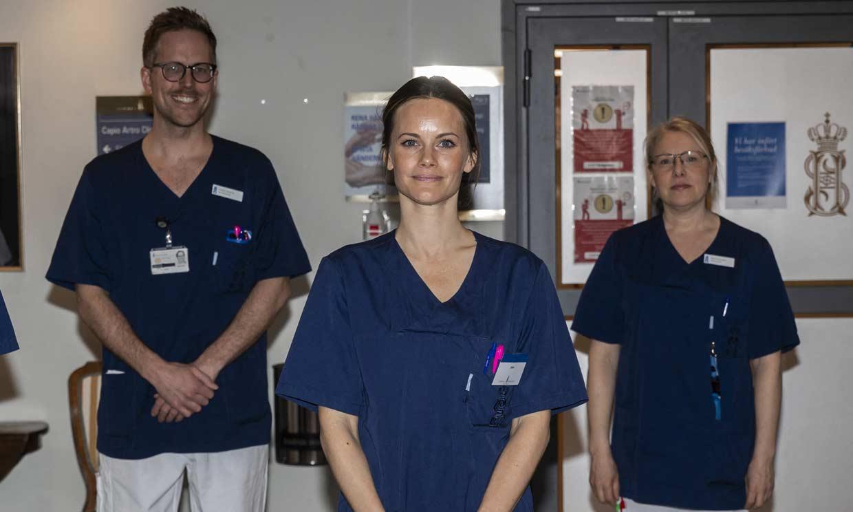 La polémica nominación de Sofia de Suecia como 'heroína' por su trabajo frente al coronavirus