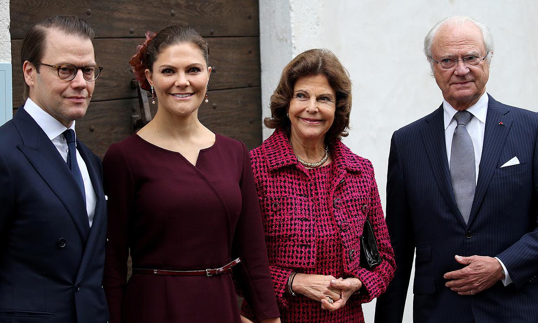 Los Reyes de Suecia, la princesa Victoria y su marido Daniel no tienen COVID-19