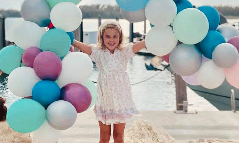 'Cariñosa y completamente única', Leonore de Suecia cumple siete años