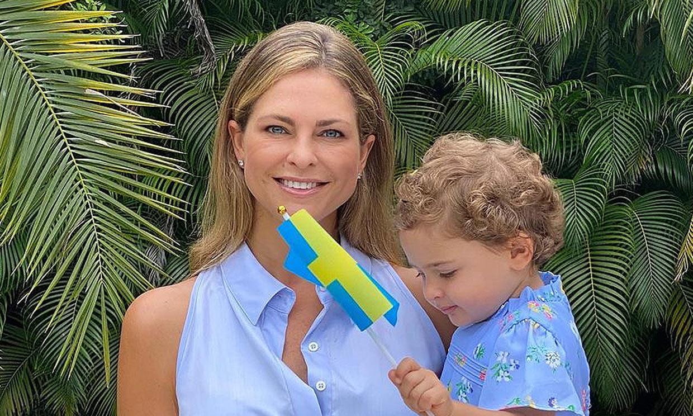 Magdalena de Suecia comparte una nueva foto de su hija Adrienne para celebrar su tercer cumpleaños