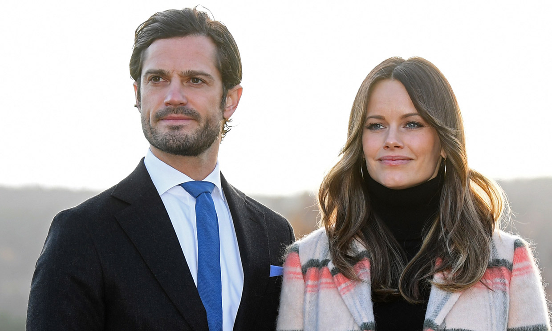 Primeras fotos de los hijos de Carlos Felipe y Sofia de Suecia con su hermanito recién nacido
