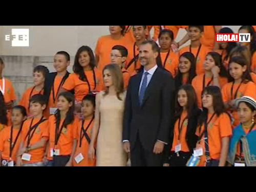 Los Príncipes de Asturias inauguran en Salamanca el Congreso Iberoamericano sobre enseñanza de lenguas