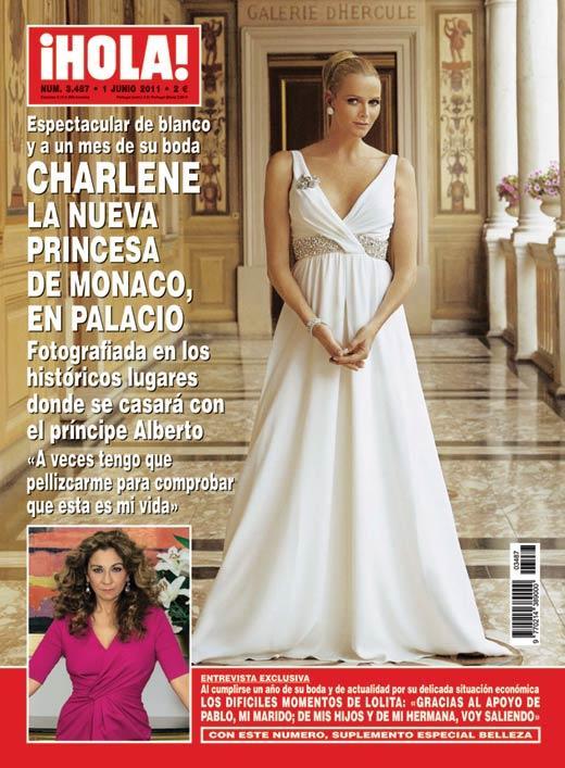Revista: Hola No. 3487 - Junio 2011 [23.06 MB | 1/06/2011 | PDF | Español]