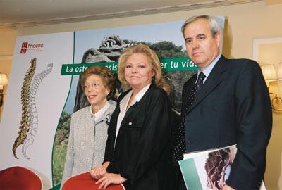 Mayra Gómez Kemp se une a la lucha contra la osteoporosis