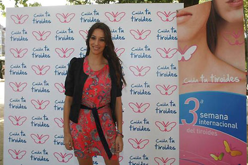 La gimnasta Almudena Cid te anima a cuidar tu tiroides