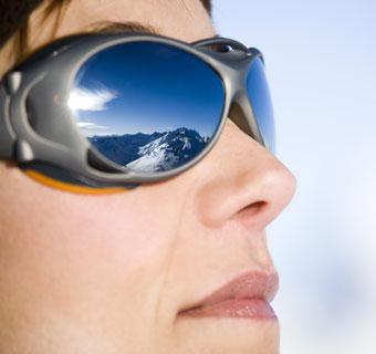 En los meses de frío... ¡no olvides tus gafas de sol!