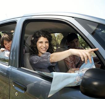 Disfruta de tu viaje en coche... ¡con seguridad!