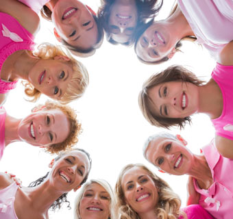 Juntos contra el cáncer de mama