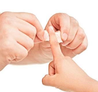 Breve guía para actuar frente a una herida