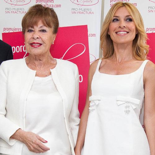 Gemma Cuervo y Cayetana Guillén Cuervo colaboran con una campaña de prevención de la osteoporosis