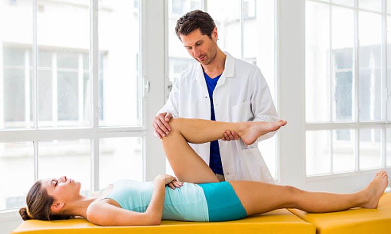 dolor de rodilla al mover la pierna