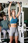 El gimnasio tradicional. Las pesas