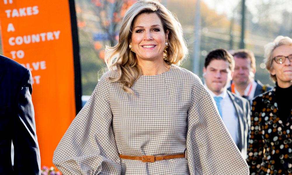Olvida los vaqueros, los pantalones 'palazzo' de Máxima de Holanda sientan aún mejor