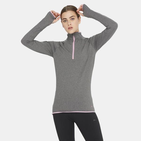 Camiseta de manga larga para 'runners'