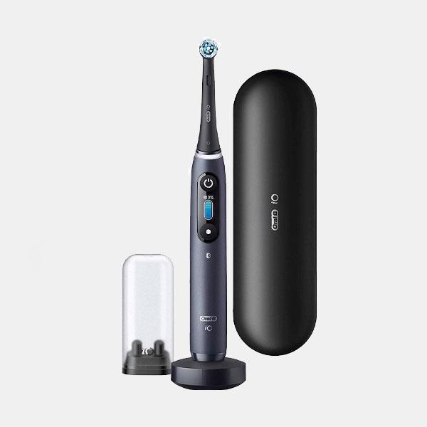 Cepillo de dientes eléctrico con pantalla táctil