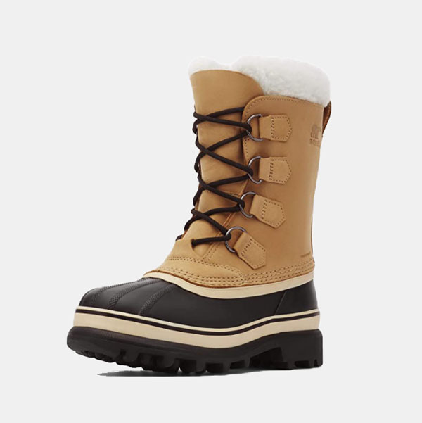 Botas con sello impermeable