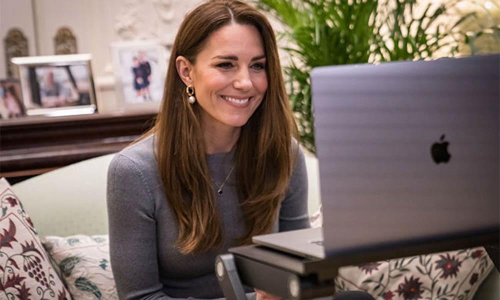 Trabaja cómoda en casa con un soporte para el portátil como el que usa Kate Middleton