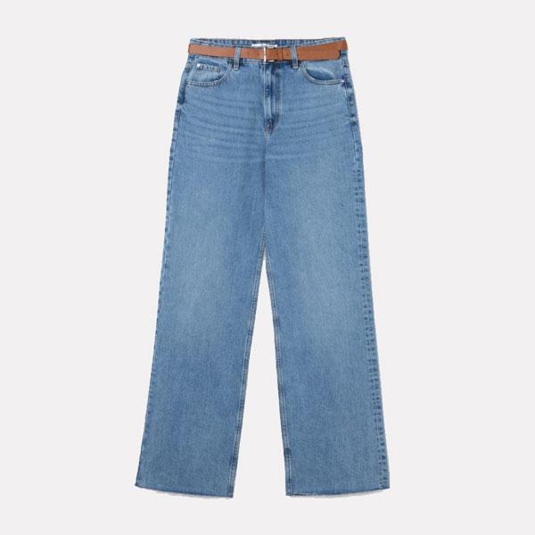 Pantalones vaqueros con cinturón