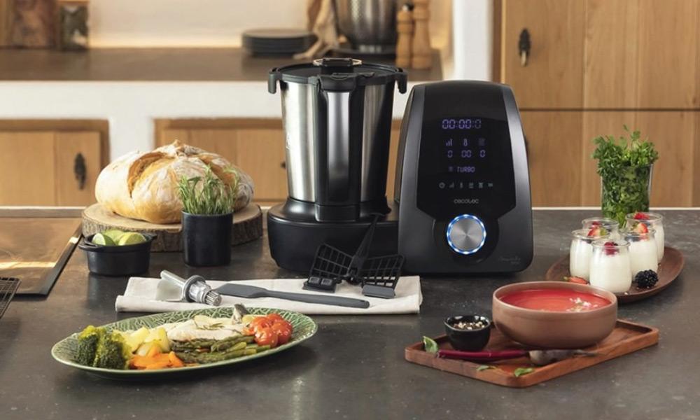 Cocinar sano será mucho más rápido y sencillo con estos robots de cocina