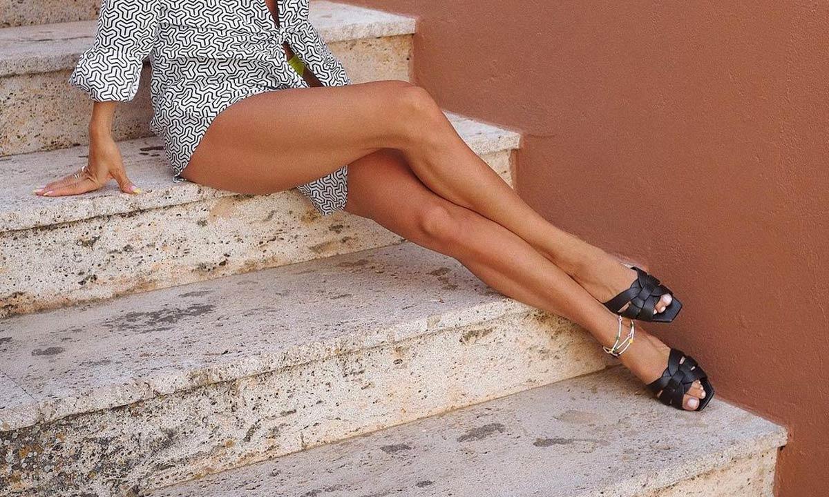 10 sandalias planas comodísimas para llevar de día o con un vestido de fiesta