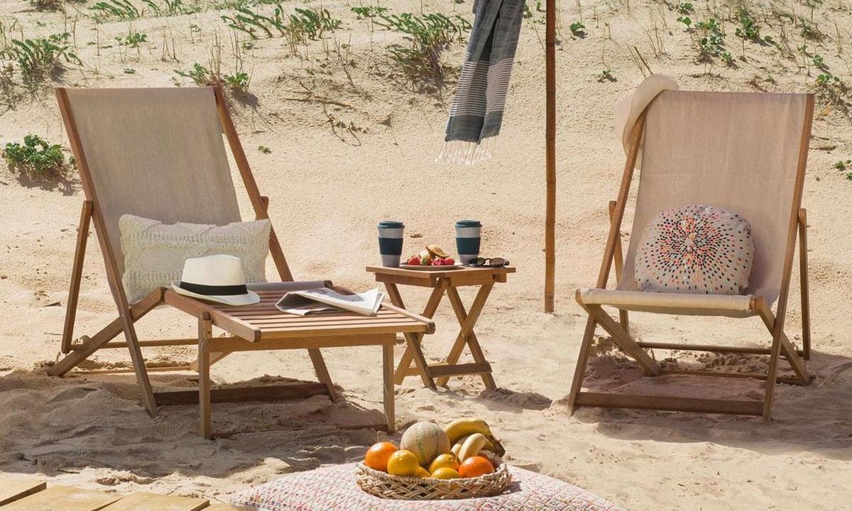 Las sillas plegables más cómodas y bonitas para llevar a la playa