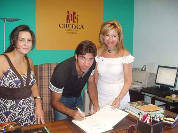 Cayetano Rivera apoya la candidatura de Cuenca a Capital Europea 2016
