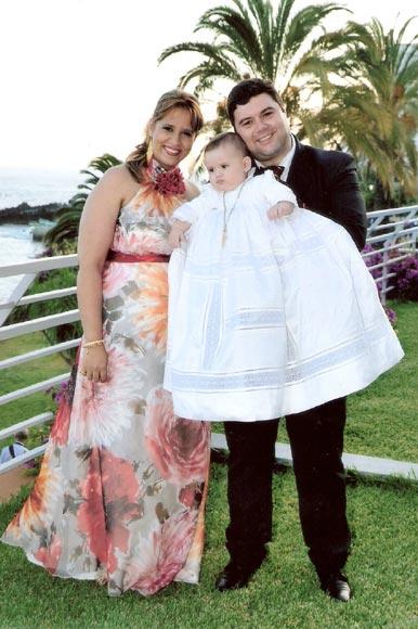 El emotivo bautizo de Leonardo Nuno Fernándes Vieira