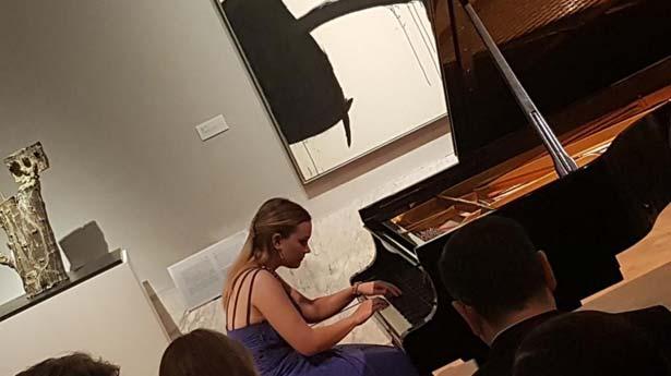 Clara Casado Rodríguez, la pianista española que encandila Estocolmo