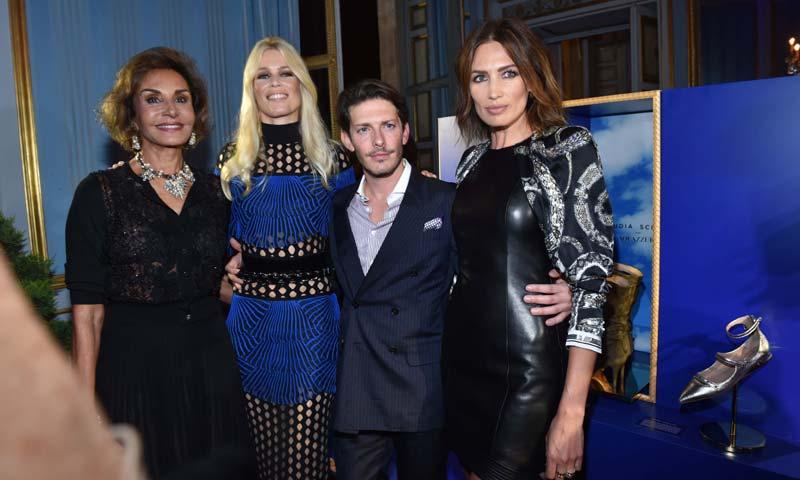 Naty Abascal y Nieves Álvarez, 'fashion party' en París con Claudia Schiffer