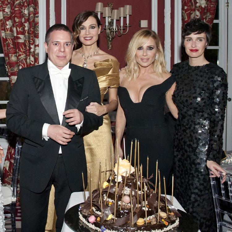 Hannibal Laguna celebra sus 30 años en el mundo de la moda rodeado de amigos