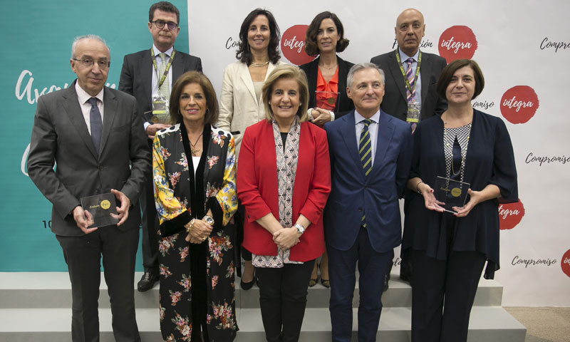 La Fundación Integra reconoce la labor de las empresas más comprometidas con la inserción laboral