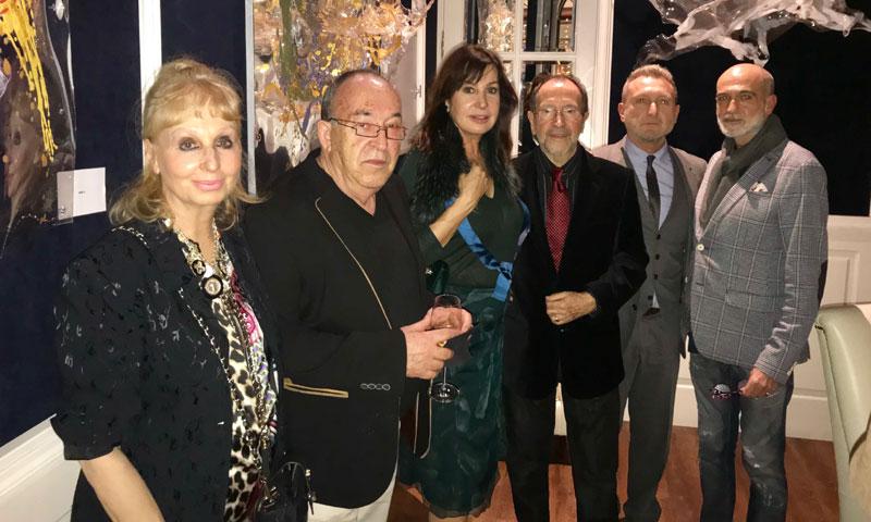 Carmen Martínez-Bordíu, madrina de honor de una exposición de arte