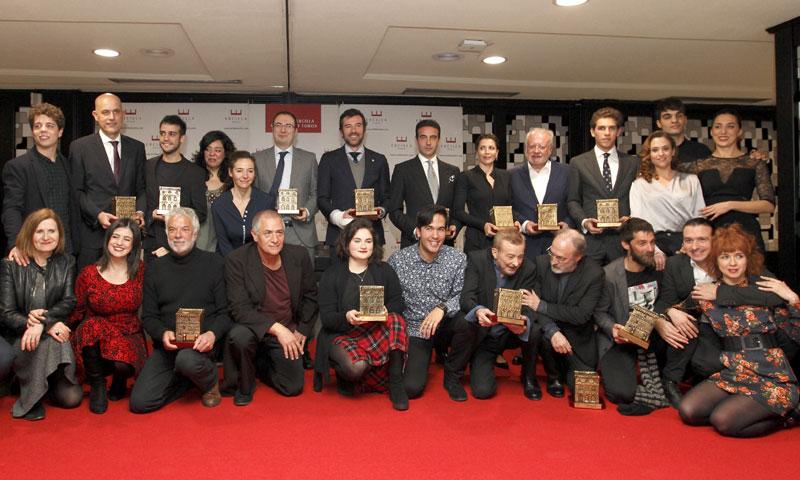 Juan Echanove, Alicia Borrachero, Juan Diego y Enrique Ponce triunfan en los Premios Ercilla