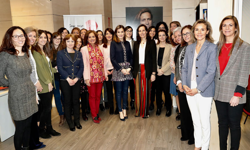 La Fundación Integra recibe la visita de la Reina Letizia