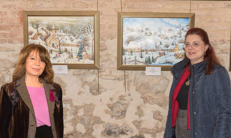 La Galería Éboli de Madrid se convierte en el centro del arte 'naïf' europeo