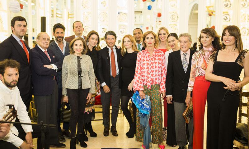 Olivia de Borbón, Ágatha Ruiz de la Prada, Óscar Higares... celebran la llegada de la Feria de Abril