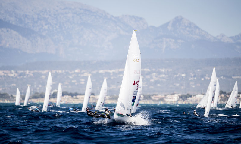 El trofeo S.A.R. Princesa Sofía Iberostar convierte Palma de Mallorca en la capital mundial de vela